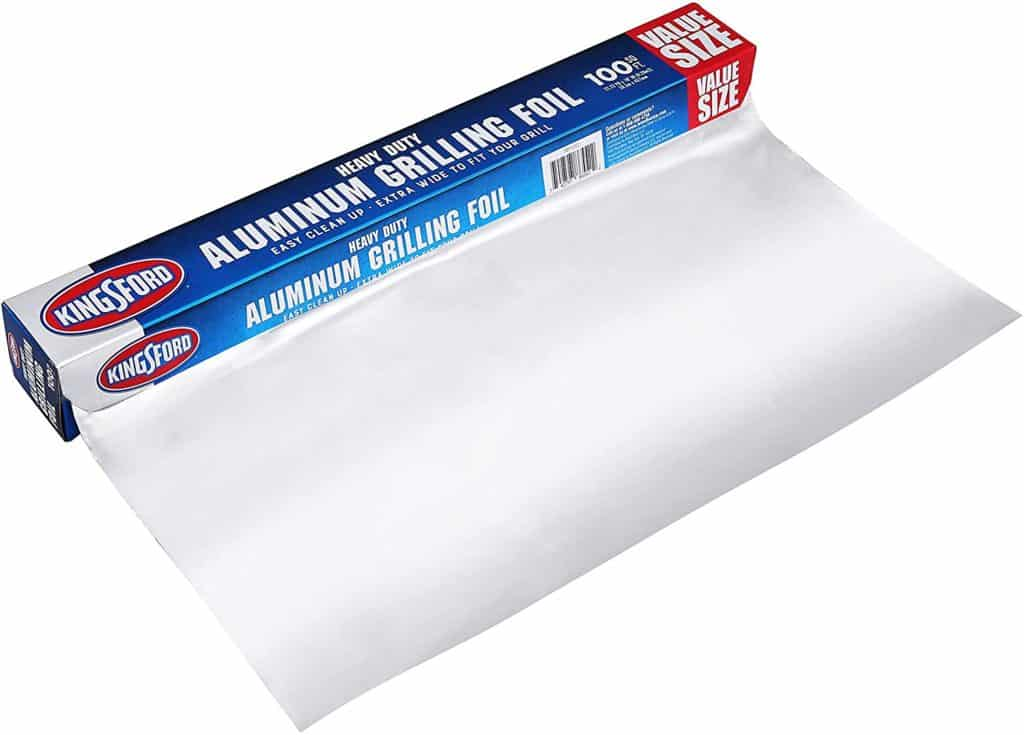 Kingsford aluminum foil