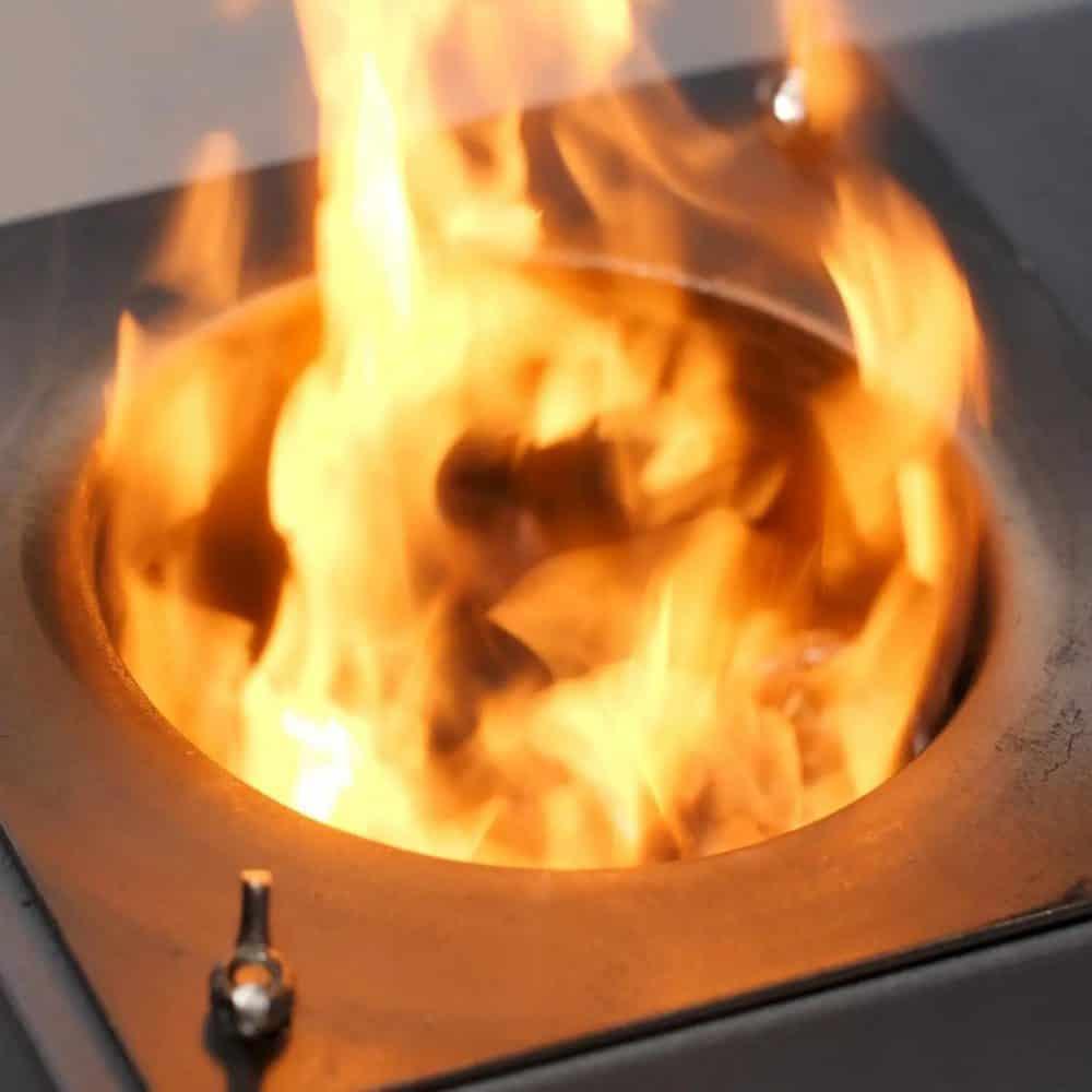 Pellet Grill fire pot