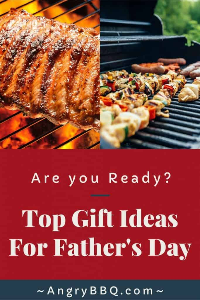 Looking for a great gift idea this Father's Day?  Look no further; Angry BBQ has put together a top 5 list for Grilling Dad's!