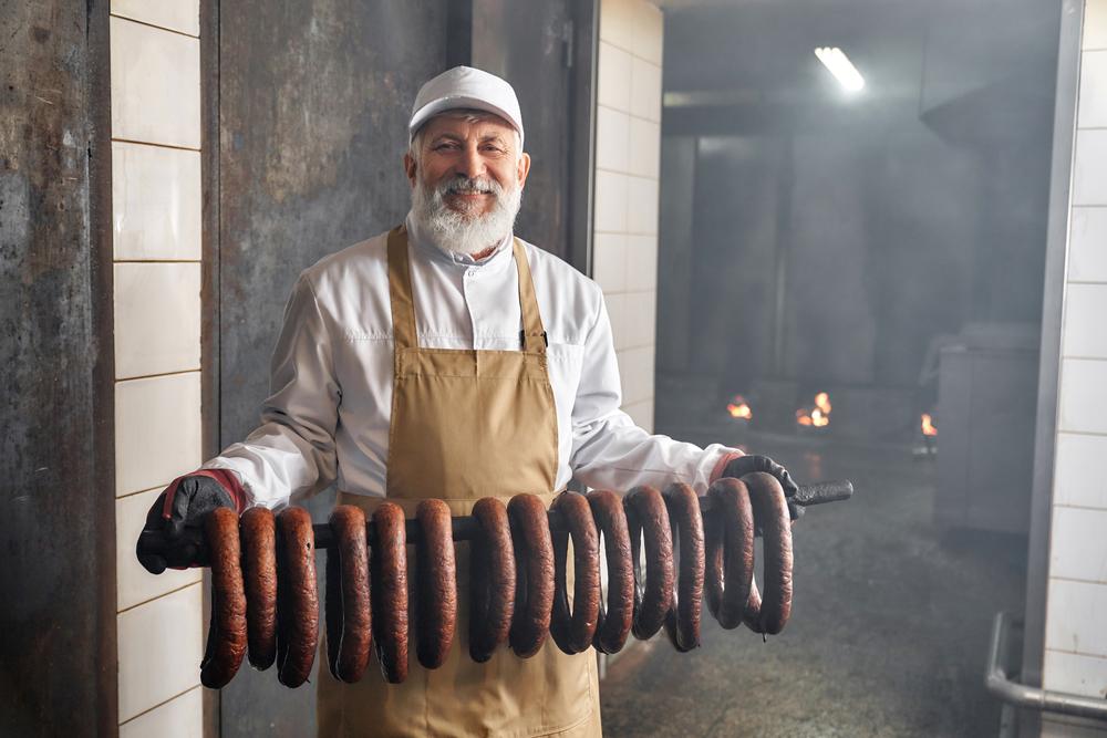 Coiled Smoked Sausage