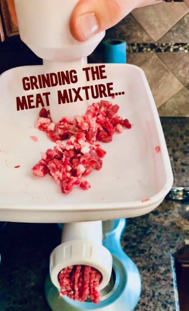 Grinding your own beef