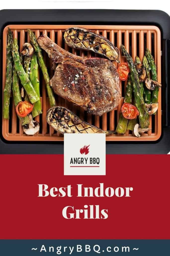 Weather got you down this BBQ Season? Re-create you favorite BBQ and grilling recipes indoors with these top 5 indoor grills. Grilled chicken, salmon, steak.... it all can be done indoors too.  Many grills now come with a smokeless guarantee; making grilling indoors even easier!