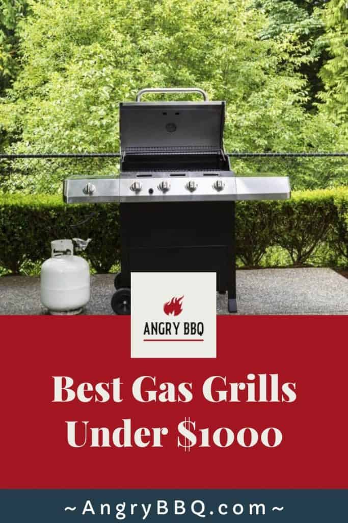There are several gas grills out there for under $1000; but the trick is to try and navigate which one can fit you and your needs the best.  These BBQ's are the best in their class; elite grills from Napolean, Heston, Broil King, Weber, and Char-Broil.  These grills will take your grilling recipes to the next level.