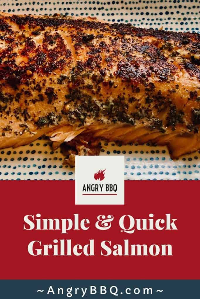Grilled salmon is one of those dinner recipes that everyone seems to absolutely adore. It's simple, it's fast, and it's nutritious. Grill it on the gas, electic, or charcoal grill!  Learn how to grill your salmon and you'll never go back to the oven again.
