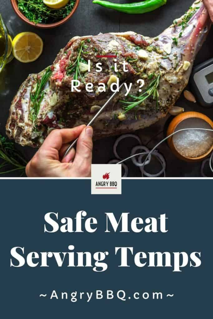 When learning to grill there is nothing more important than knowing the temperature to cook your meat to.  Here's a quick guide for safe meat temperatures; so all your grilled recipes are cooked to perfection