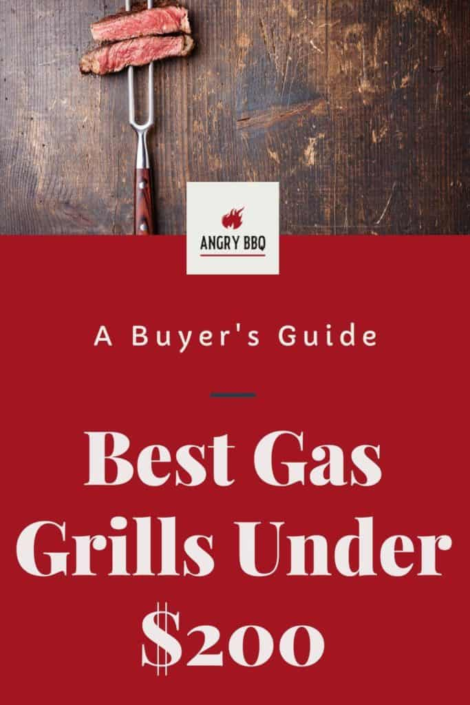 Trying to find a decent quality and affordable grill can be a juggle. However, it does not have to be impossible. There are many grills out there but finding the right match for you is key. Hopefully, we can help by narrowing down the best gas grills under $200 that we love so you can get grilling ALL THE FAVORITE RECIPES!