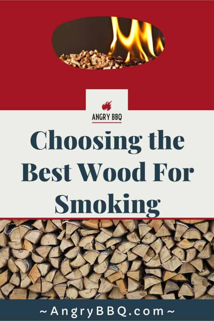 Finding the best wood for smoking meat makes a difference in the smells, tastes, and flavors of your meat. Different wood produces different outcomes and finding the right match for you and your tastes are important.  Chunks vs Chip vs Pellets...  What is the best for smoking brisket? Chicken? Pork?  Find out all the answers!