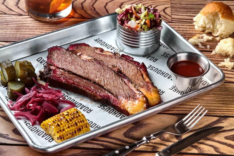 Beef Brisket with sides