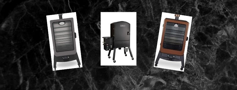 Vertical smoker covers
