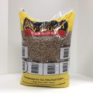 peach wood pellets