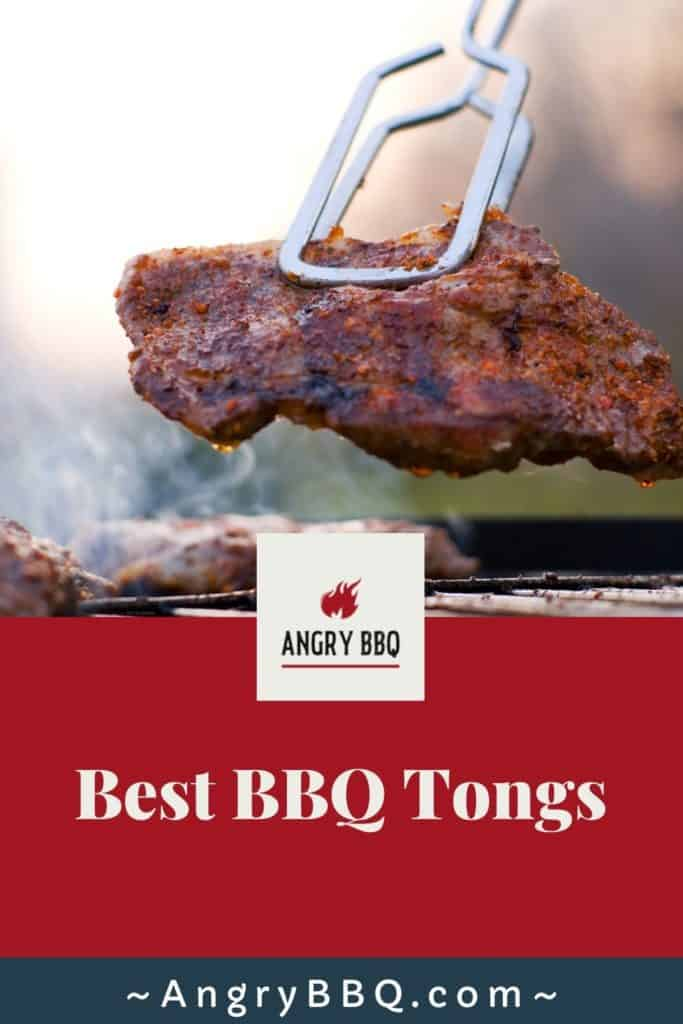 Best BBQ Grill Tongs Pin
