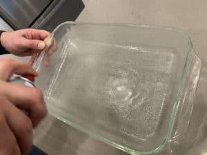 Greasing 9 x 13 pan