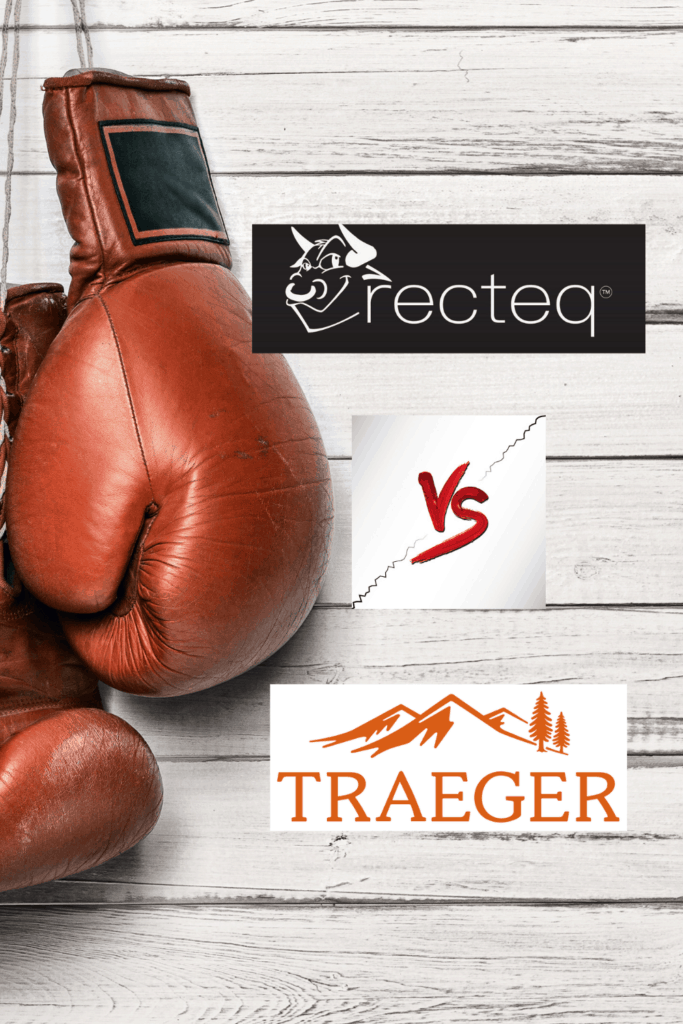 Recteq vs Traeger pin