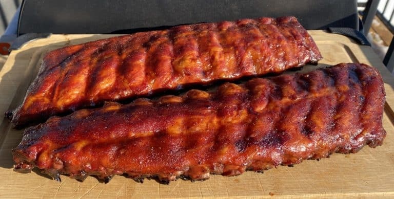Perfectly Smoked Pork Ribs - Not overdone 321 Ribs