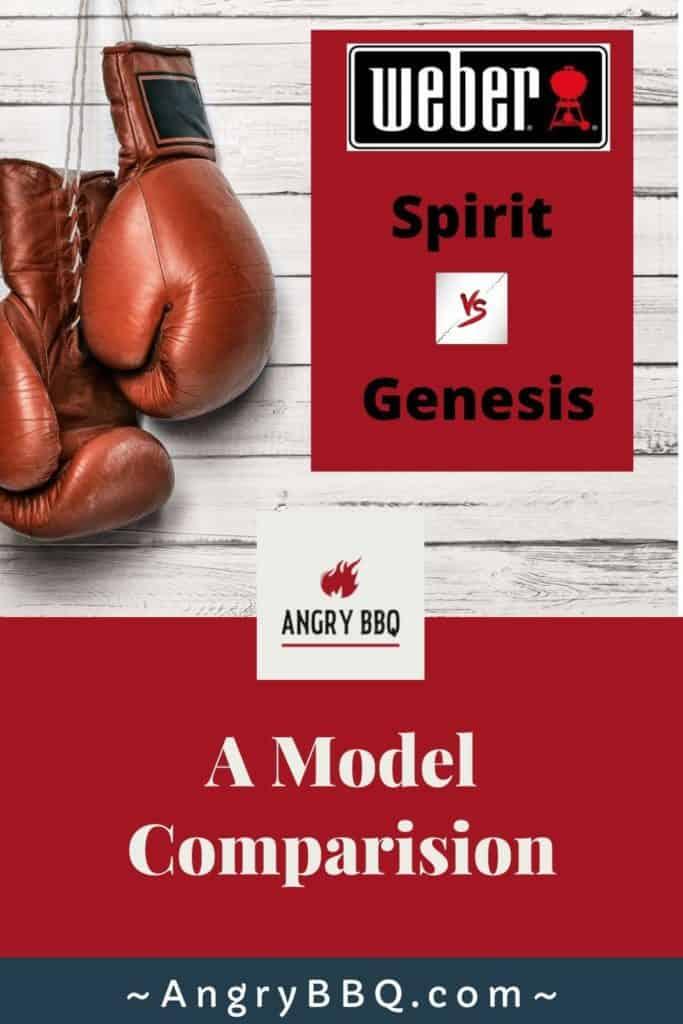 Weber spirit vs genesis pin