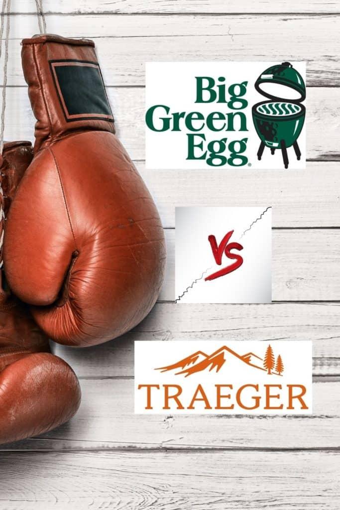 Green Egg vs Traeger pin
