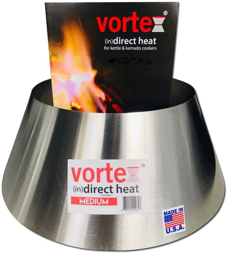 Charcoal vortex