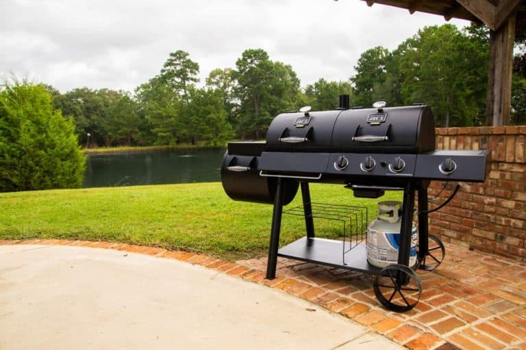 Oklahoma Joe's Grill:smoker combo