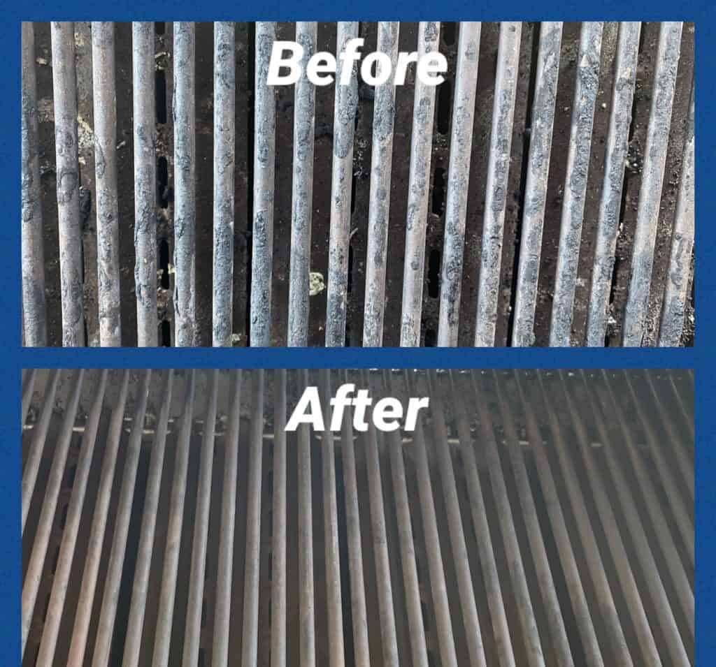 Before/After grates