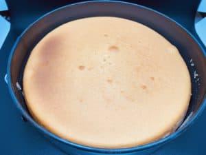 Cheesecake done