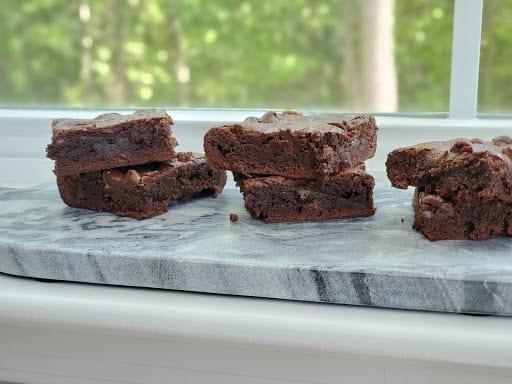 Grilled Fudgy Brownies