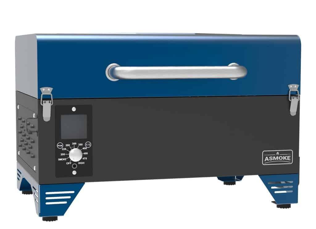 Asmoke AS300 Portable Pellet Grill Blue