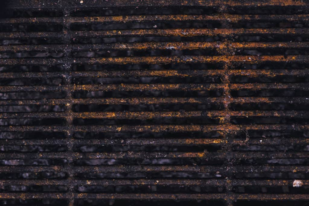 Rusty Grill Grate Example
