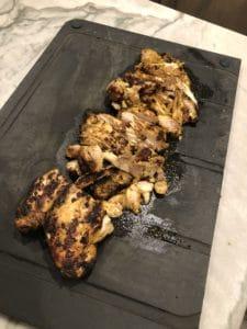 Chicken Shwarma cut up