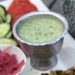 Creamy Green Harissa Sauce