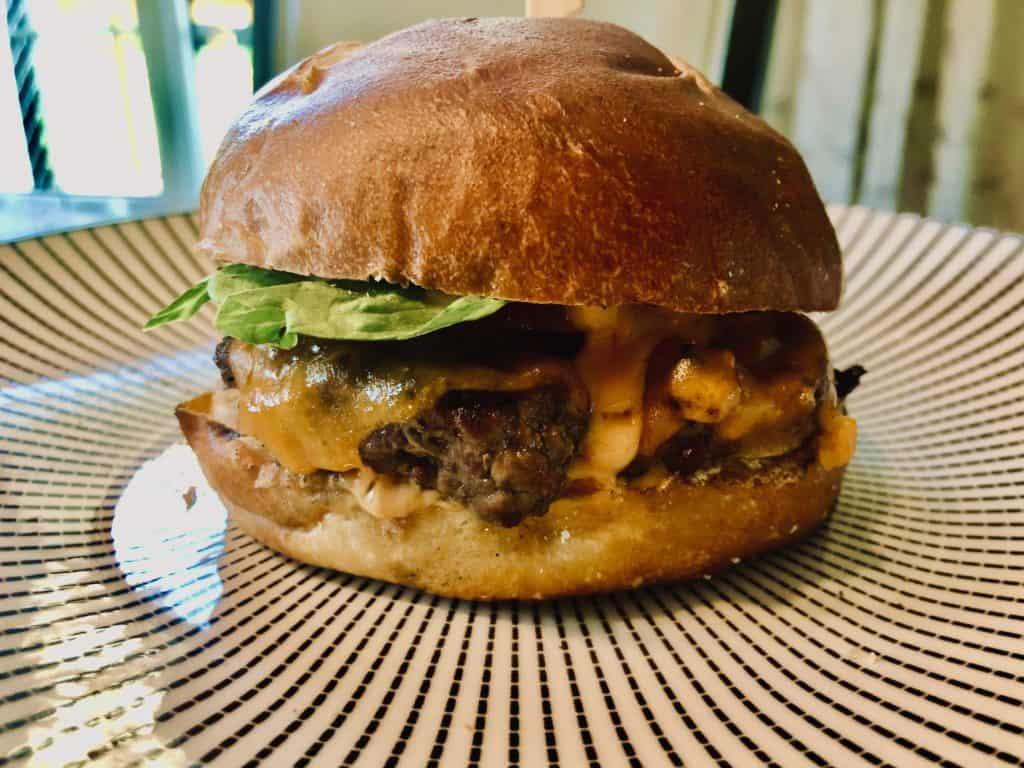 Homemade Smash Burger