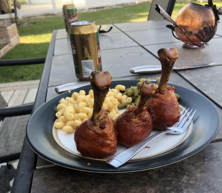 Perfect BBQ Chicken Lollipops