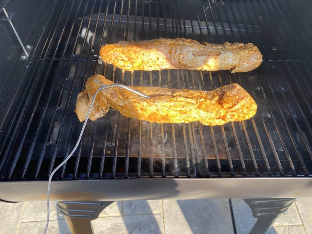 Pellet Grill Pork Tenderloin