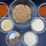 Homemade Rib Rub Ingredients