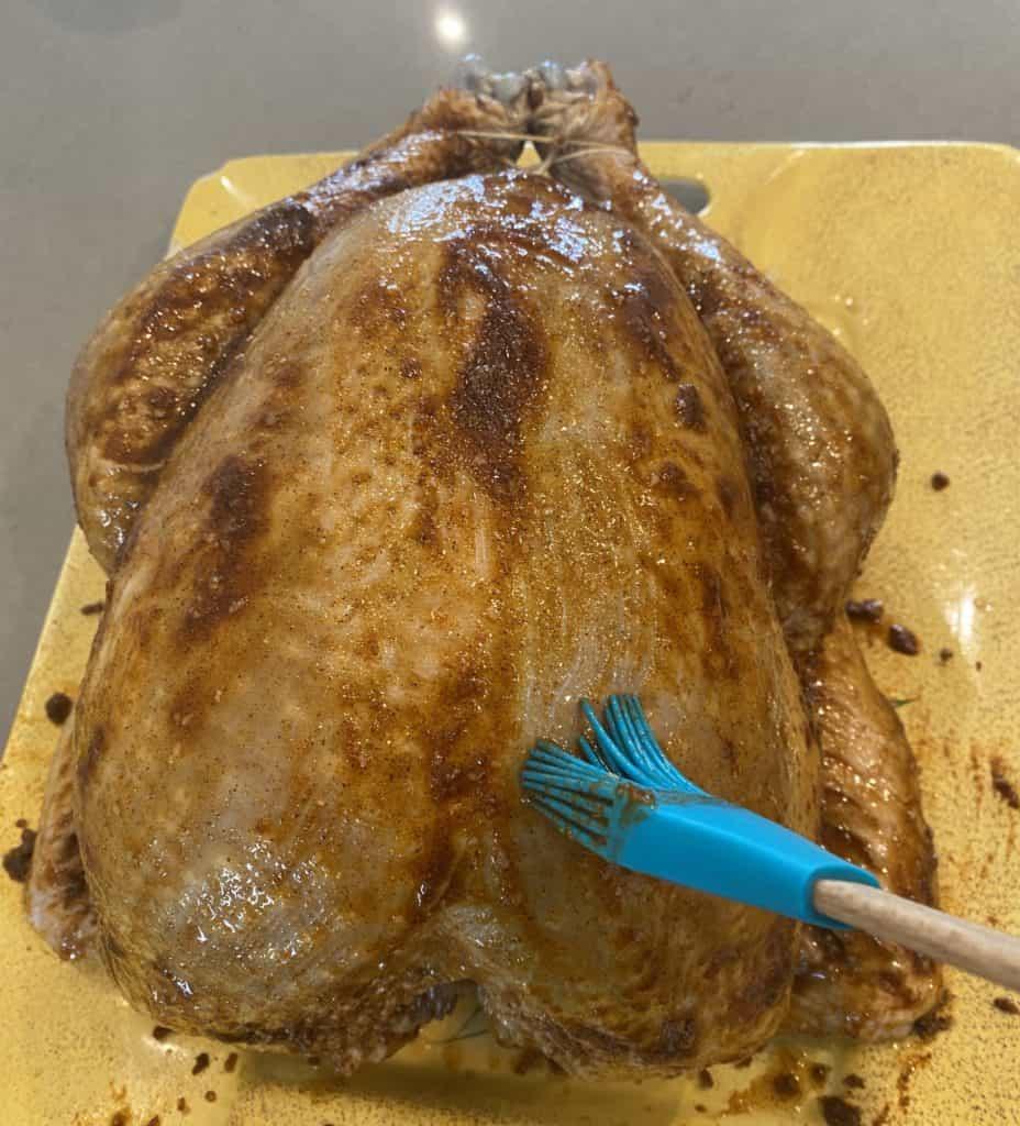 Peanut Oil Brushed on Turkey