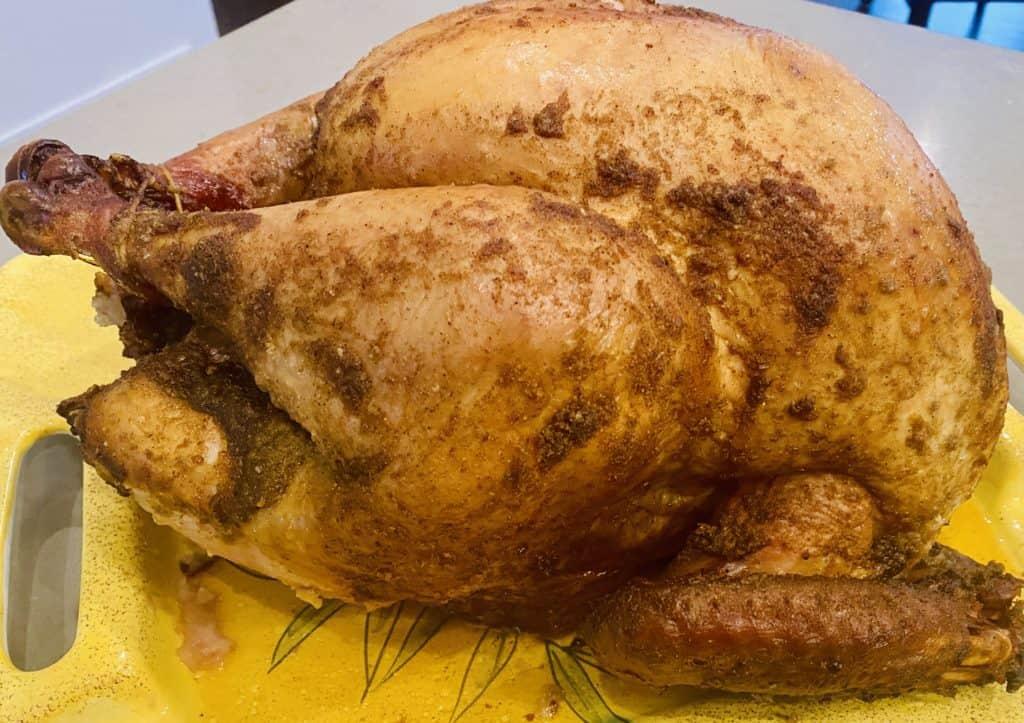 Smoked Turkey Done