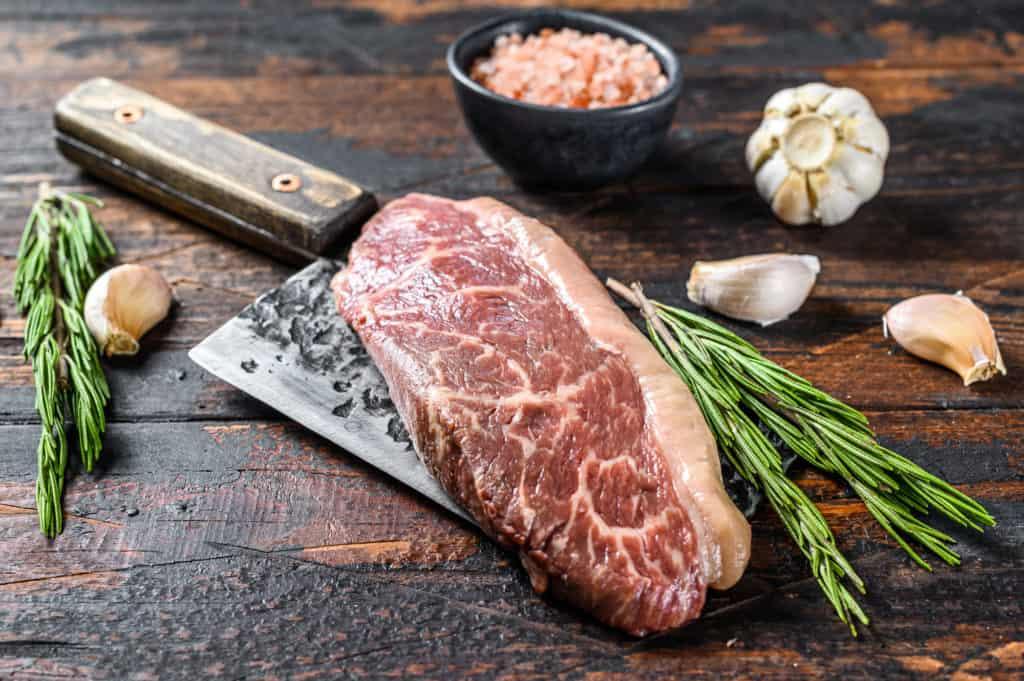 Raw Picanha Steak